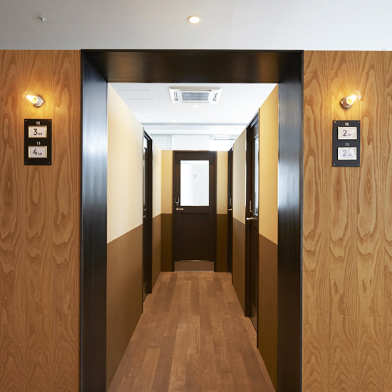 SMALL OFFICE CORRIDOR