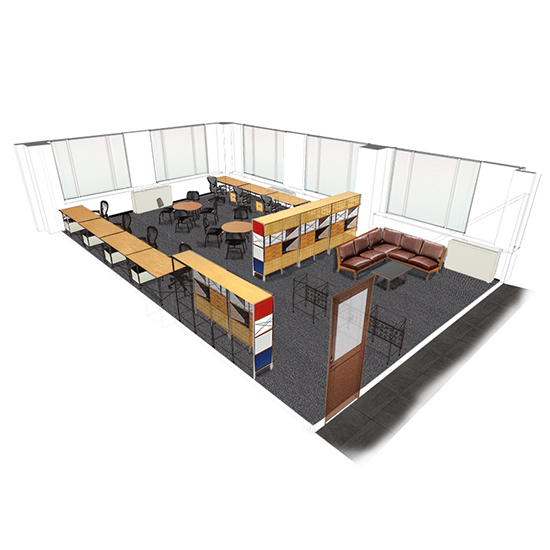 OFFICE Layout 3D image