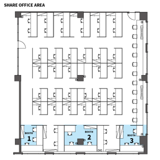 SHARE OFFICE Layout
